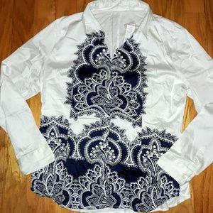 New York & Company blouse size XL